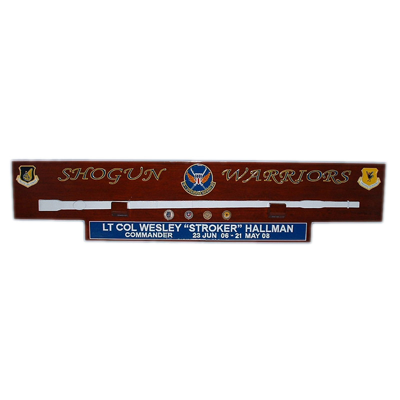 18 OSS Gun Barrel Plaque