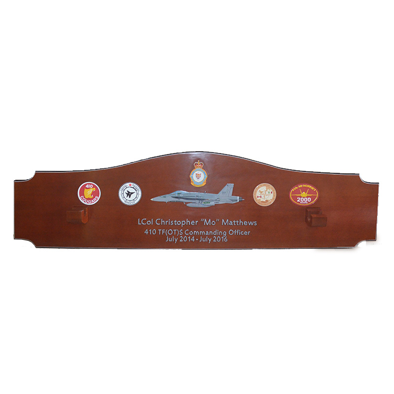 410 TFS Gun Barrel Plaque