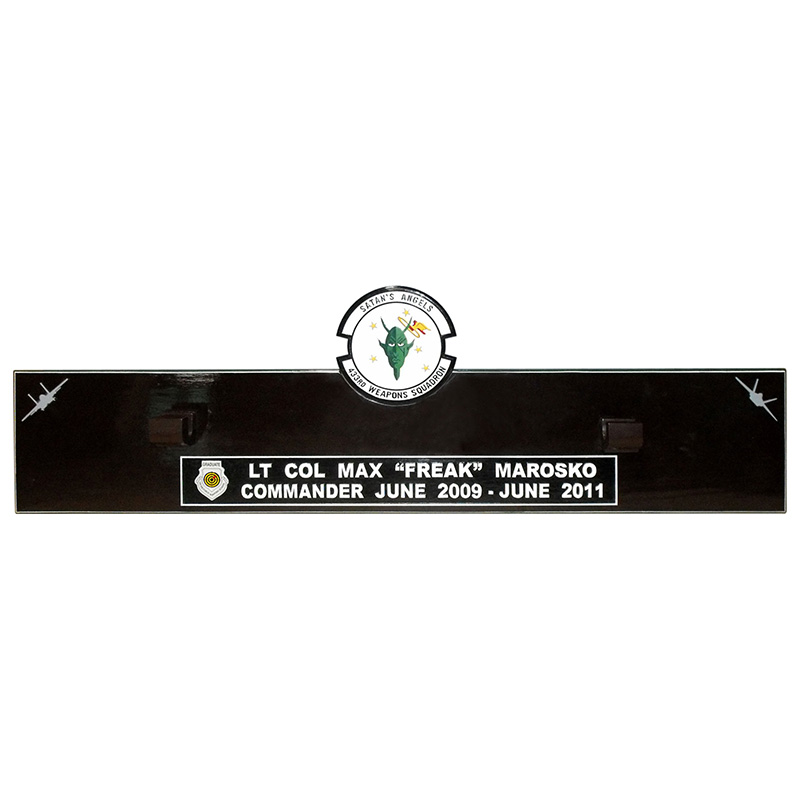 433WPS Gun Barrel Plaque