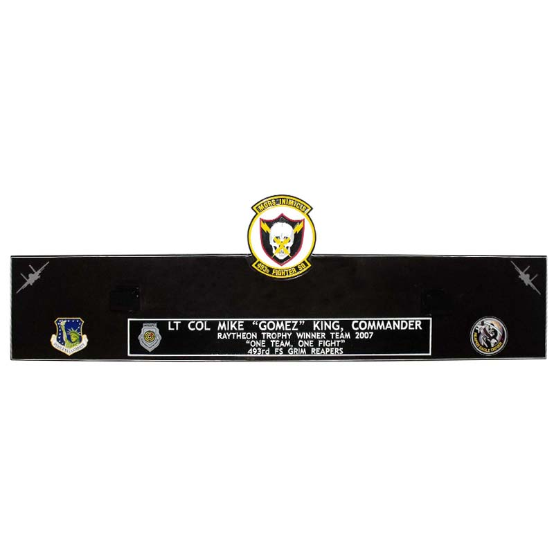 493FS Gun Barrel Plaque