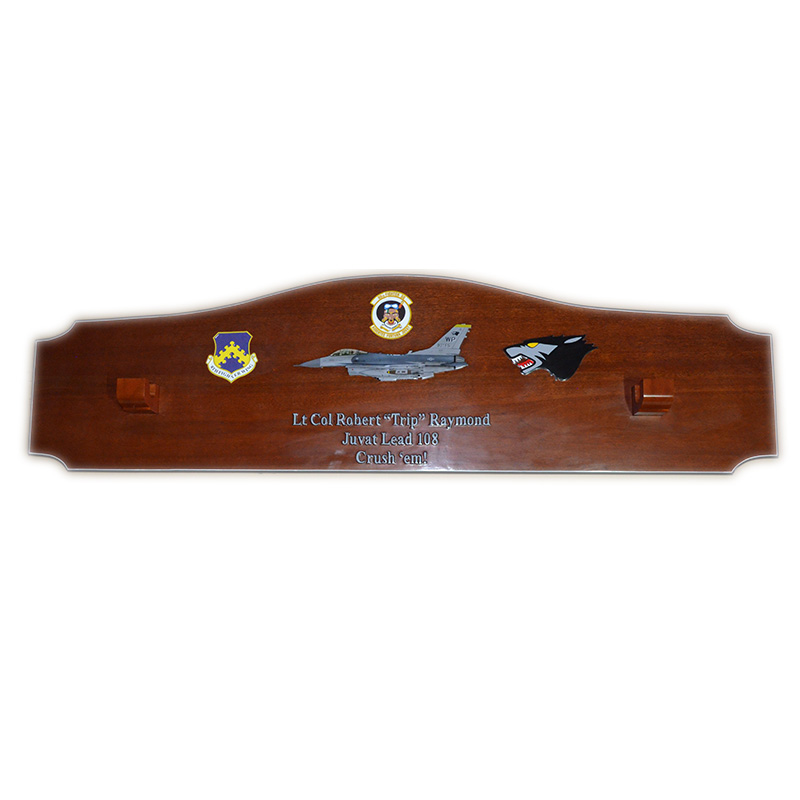 80FS Juvat Lead-108 Gun Barrel Plaque