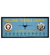 Welcome to Eagle Country Plaque