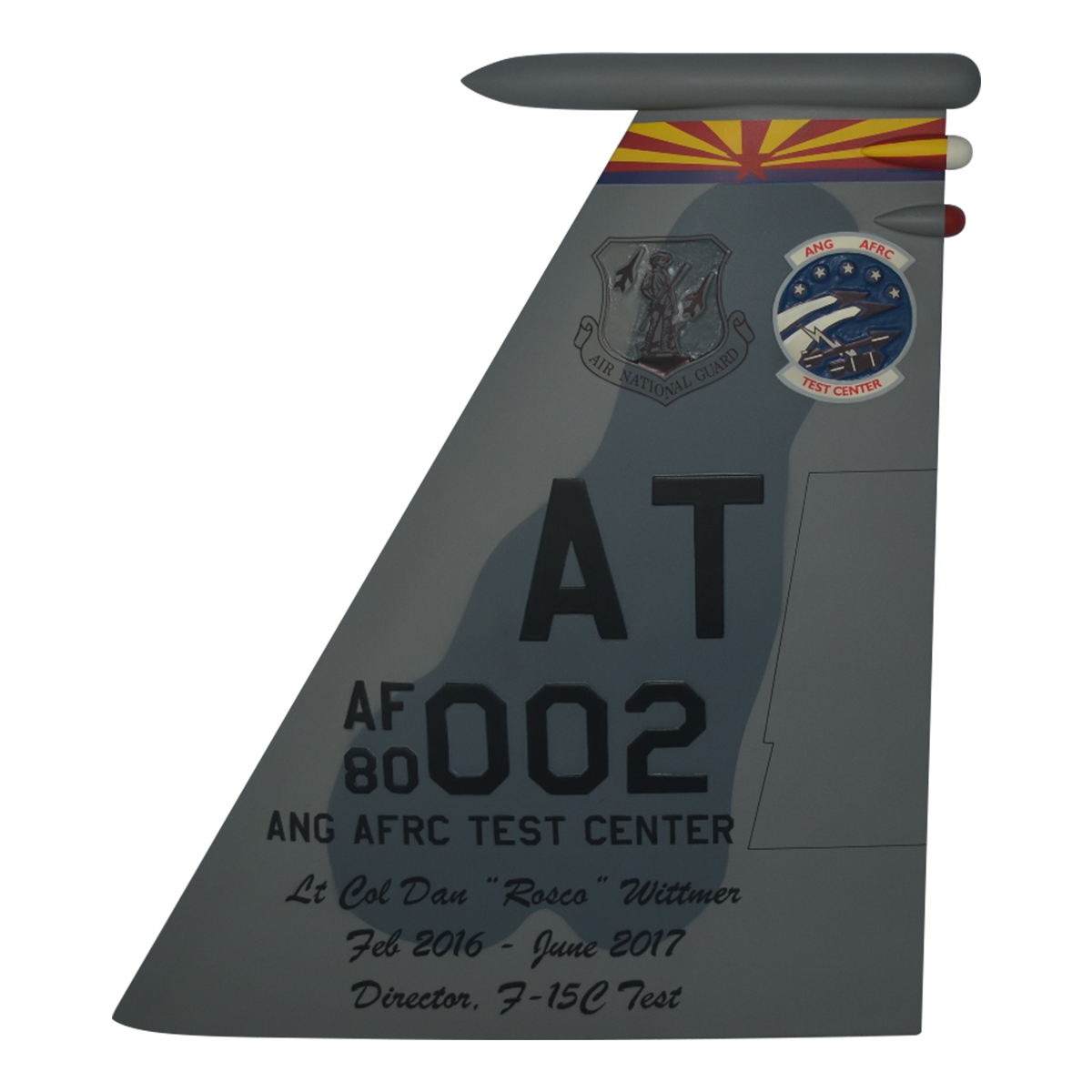AATC F-15C Eagle Tail Flash