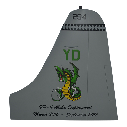 VP-4 P-3 Orion Tail Flash