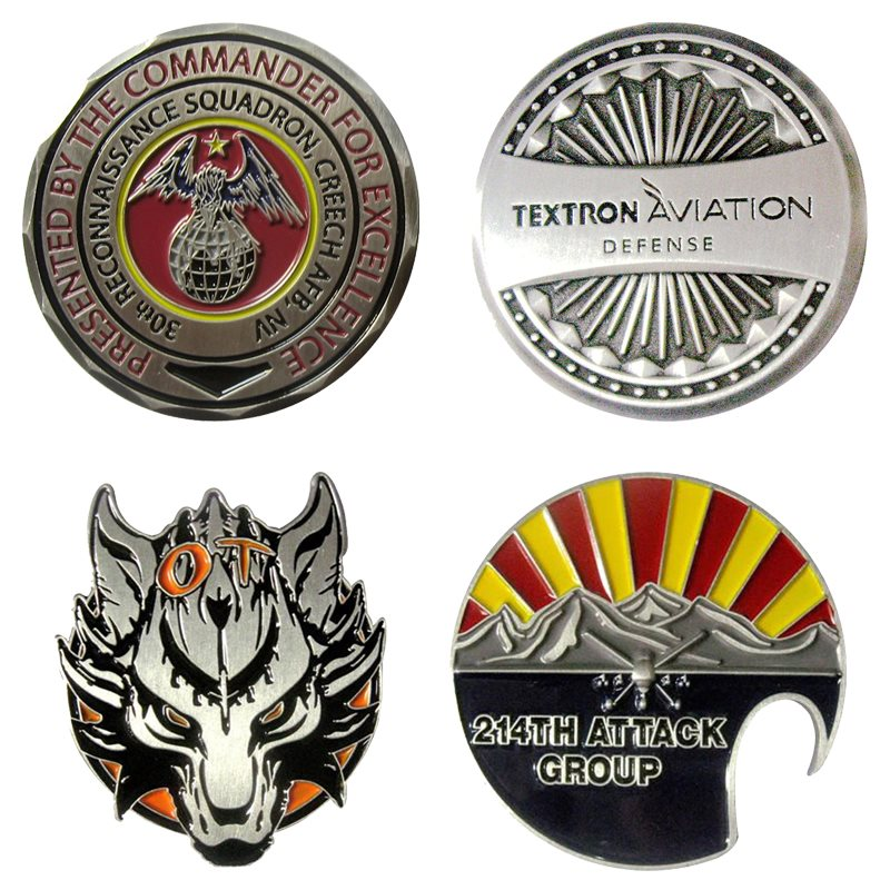 Custom Challenge Coins Product Spec Sheet