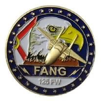 125FW FANG Challenge Coin