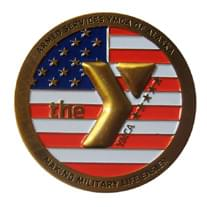 ASYMCA Challenge Coin