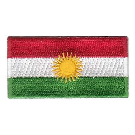 Kurdistan Flag Patch