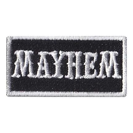 Mayhem Pencil Patch
