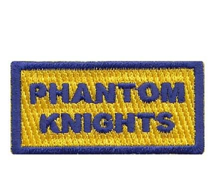 Phantom Knights Pencil Patch