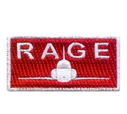 Rage Pencil Patch