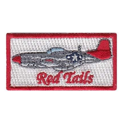 Red Tails Pencil Patch