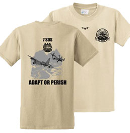 7 SOS Adapt or Perish Shirt