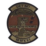 AFROTC Det 867 MMXXI OCP Patch