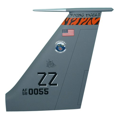 909 ARS KC-135 Airplane Tail Flash