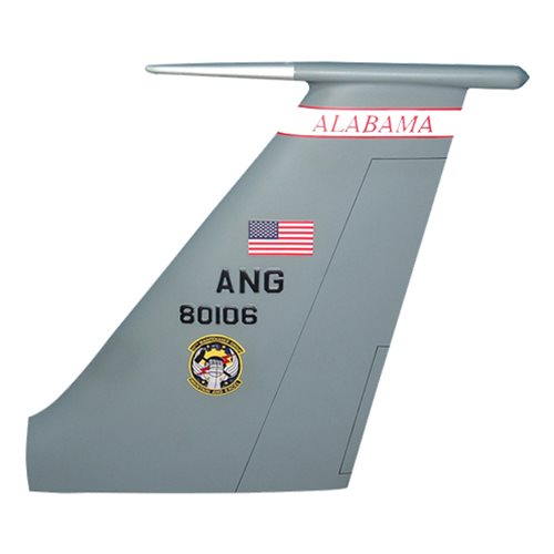 117 ARW KC-135 Airplane Tail Flash