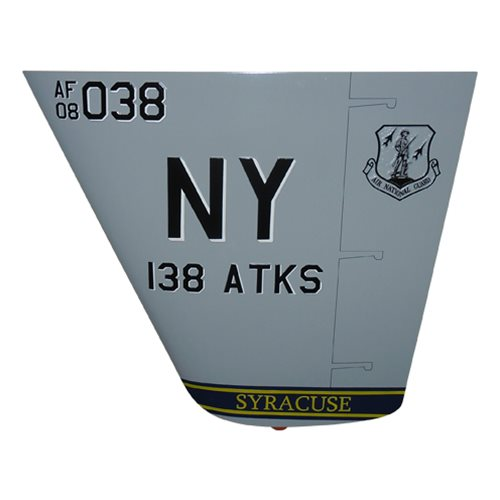 138 ATKS MQ-9 Reaper Custom Airplane Tail Flash