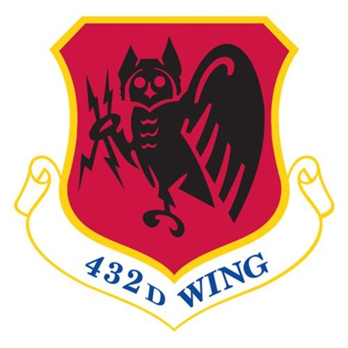432 WG MQ-1 Predator Custom Airplane Tail Flash