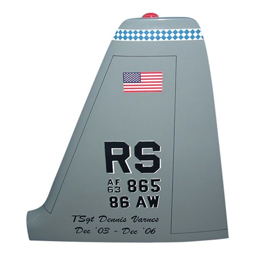 86 AW C-130 Airplane Tail Flash