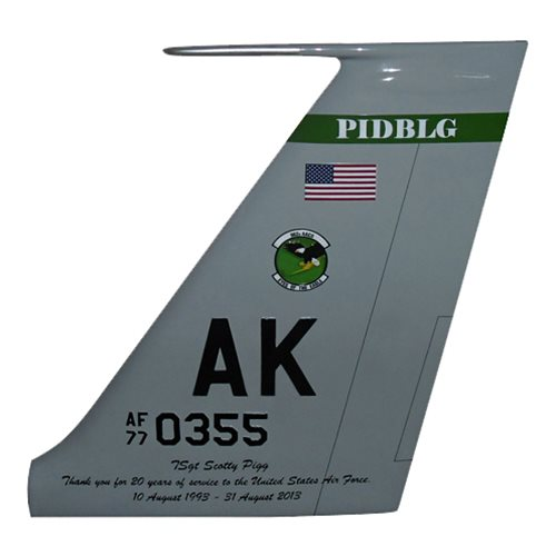 962 AACS E-3 Sentry Custom Airplane Tail Flash