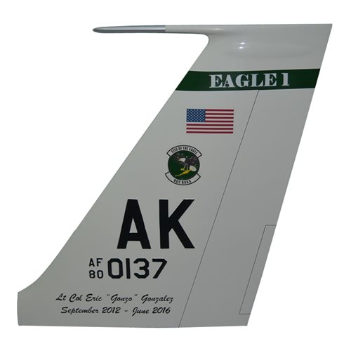 962 AACS E-3 Sentry Airplane Tail Flash