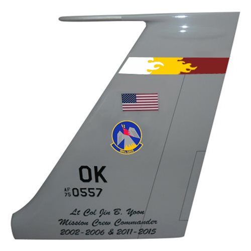 964 AACS E-3 Sentry Custom Airplane Tail Flash