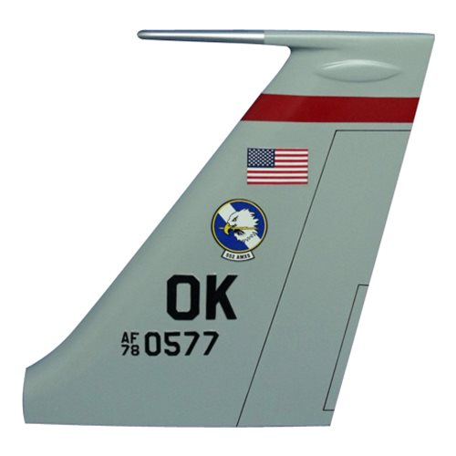 552 AMXS E-3 Sentry Custom Airplane Tail Flash