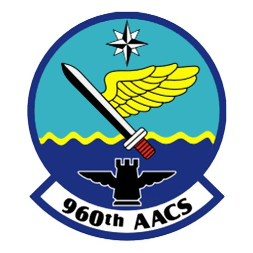 960 AACS E-3 Sentry Custom Airplane Tail Flash