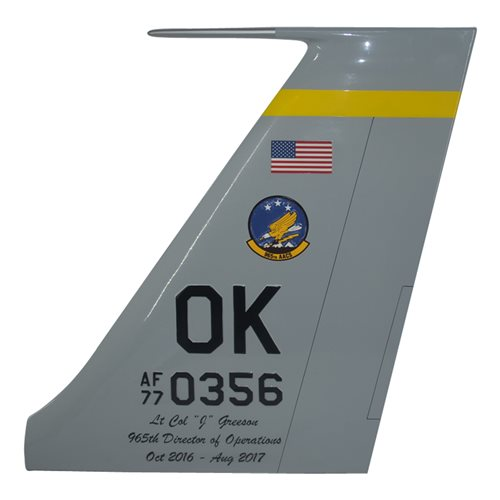 965 AACS E-3 Sentry Custom Airplane Tail Flash - View 3