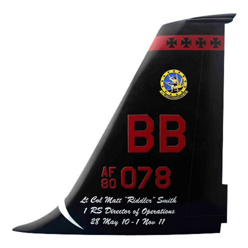 1 RS U-2 Airplane Tail Flash