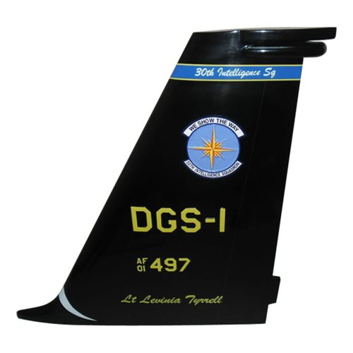 497 ISRG U-2 Airplane Tail Flash  - View 3