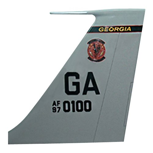16 ACCS E-8C JSTARS Custom Airplane Tail Flash