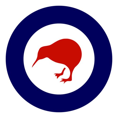 Royal New Zealand Air Force P-3 Airplane Tail Flash