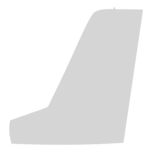 HC-144 Airplane Tail Flash