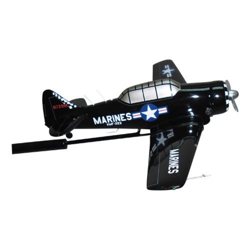 VMF-223 T-6 Custom Airplane Briefing Stick - View 3