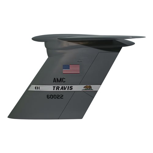 22 AS C-5B Custom Airplane Tail Flash