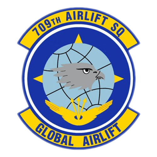 709 AS C-5B Custom Airplane Tail Flash