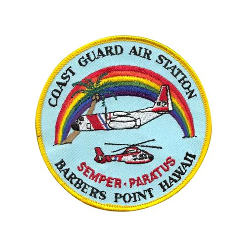 CGAS Barbers Point C-130 Airplane Tail Flash