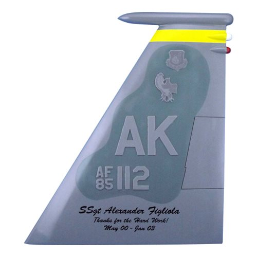 12 FS F-15C Eagle Custom Airplane Tail Flash