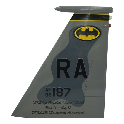 493 FS F-15C Eagle Custom Airplane Tail Flash - View 3