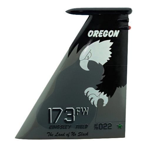 173 FW F-15 Airplane Tail Flash