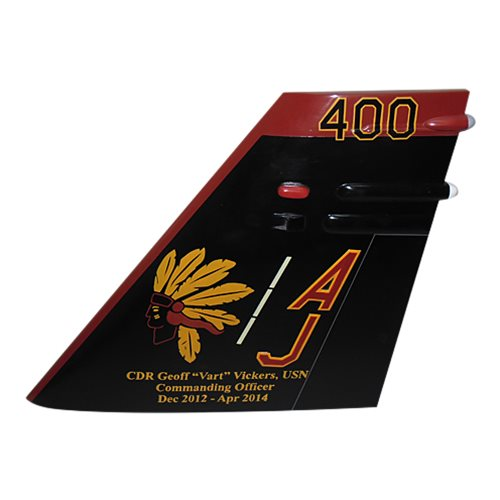 VFA-87 F/A-18 Airplane Tail Flash