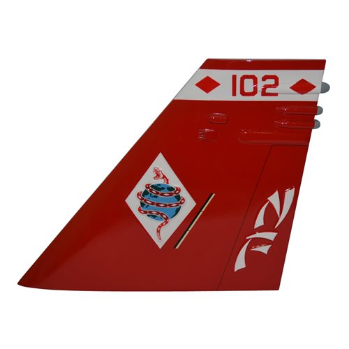 VFA-102 F/A-18E Super Hornet Custom Airplane Tail Flash - View 2