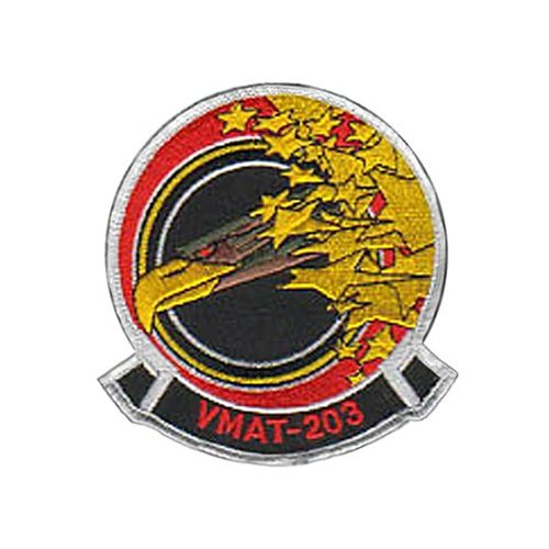 VMAT-203 AV-8B Airplane Tail Flash