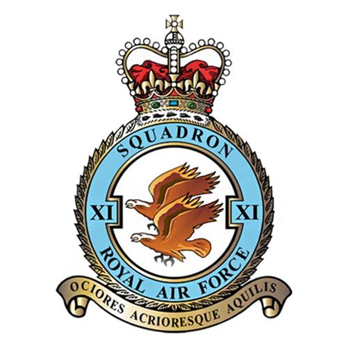 No. 11 Squadron Eurofighter Typhoon Custom Airplane Tail Flash