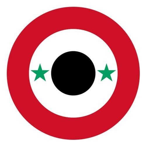 syrian air force mig29 airplane tail flash custom