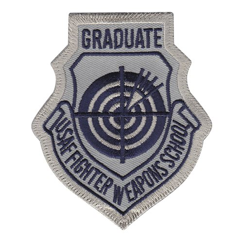 USAF Fighter Weapons School Graduate ABU Patch