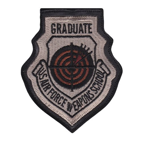 USAF Weapons School Instructor Desert Patch