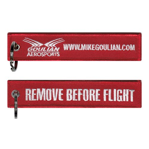 Mike Goulian Airshows Key Flag