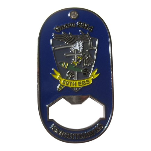 69 BS Custom Air Force Challenge Coin - View 2